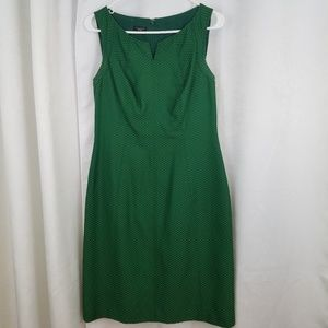 Emerald Green Talbots Dress Size Medium